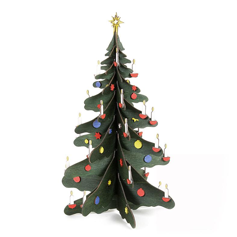 Weihnachtsbaum farbig