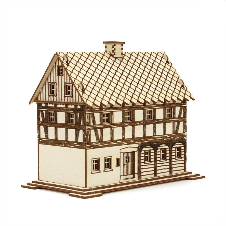 Bausatz Rauchhaus grosses Umgebindehaus